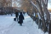 «Будем проводить проверку». Публикацией на JustMedia.Ru о нечищеных улицах Ирбита заинтересовалась прокуратура