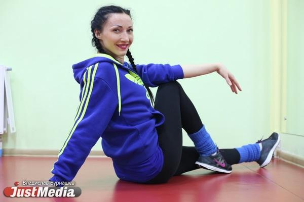 Инструктор по фитнесу Екатерина Шошина: «Я люблю лето, а зиму провожу, занимаясь спортом». В Екатеринбург пришли морозы. ФОТО, ВИДЕО