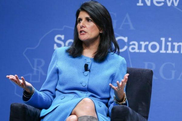Сенат США утвердил Никки Хейли на должность постпреда при ООН