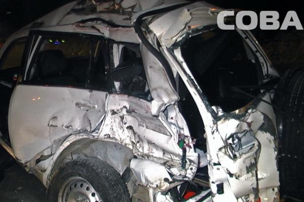 На ЕКАДе погиб водитель Chery Tiggo, выехавший на встречку