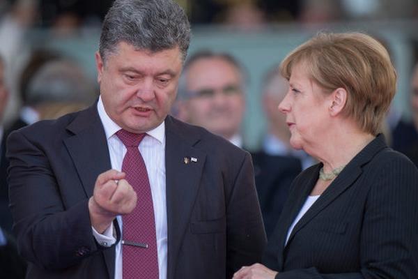 Порошенко и Меркель обсудят ситуацию в Донбассе