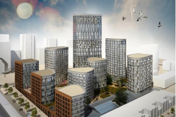 На Градсовете презентуют проект высотного квартала «Форум-сити» на месте Центрального рынка. ФОТО