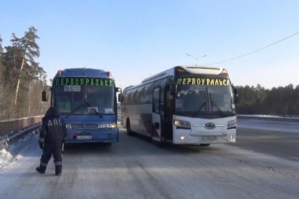 После серии ДТП с общественным транспортом, ГИБДД устроила рейд по автобусам