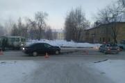 В Новоуральске после столкновения с Toyota загорелась пассажирская «Газель»