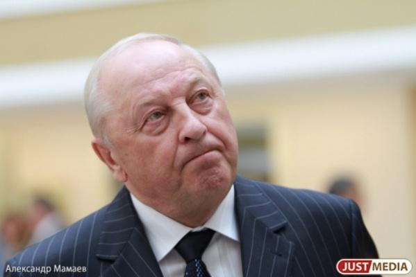 Эдуард Россель: «Свердловской области надо создать свою программу импортозамещения»