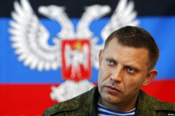 Суд в Киеве санкционировал задержание главы ДНР Захарченко