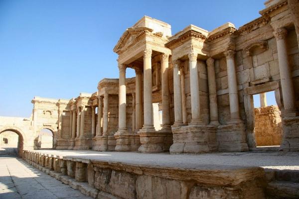 Минобороны опубликовало видео уничтожения памятников Пальмиры