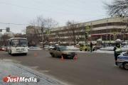 Неработающие светофоры парализовали движение возле Оперного театра