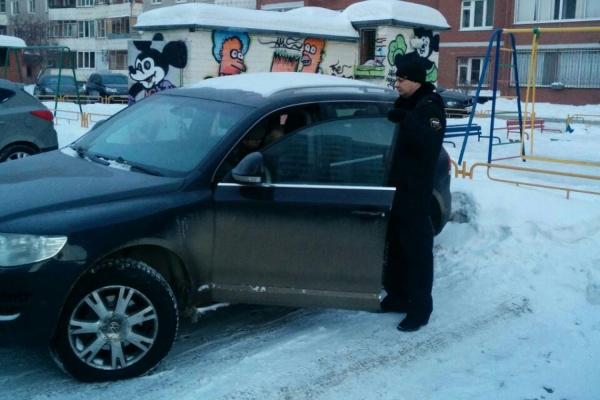 В Екатеринбурге приставы арестовали Touareg за 140-тысячный налоговый долг