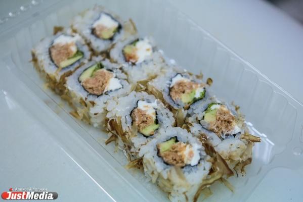 ВЕкатеринбурге у 7-ми клиентов «Студии суши» выявили сальмонеллез