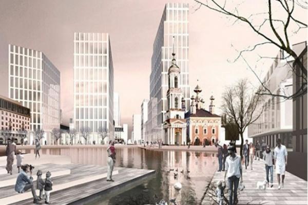 «У нас дворов не останется, будет сплошная парковка». Жители Екатеринбурга раскритиковали проект нового ЖК на месте «Смака»
