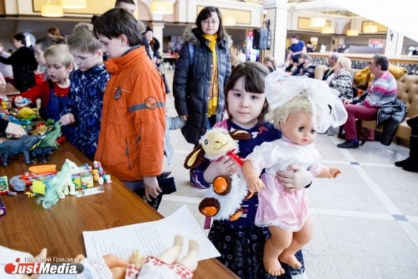 В Екатеринбурге на один день откроется пункт обмена детскими игрушками