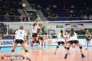 Волейбольная «Уралочка» финишировала на третьем месте в чемпионате России