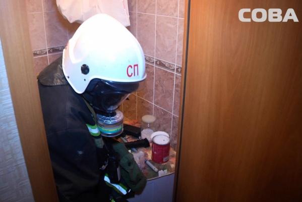 Екатеринбурженка во время уборки случайно разбила бутылек с нашатырным спиртом