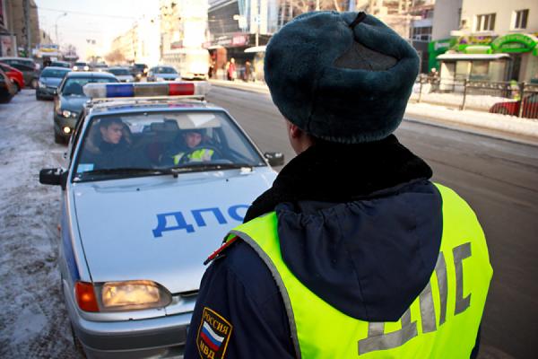 Свердловские гаишники начинают охоту на пешеходов