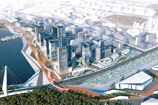 Градсовет рассмотрит проект микрорайона на месте Expo park и высотку у КРК «Уралец». ФОТО