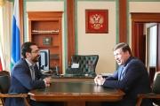 Куйвашев обсудил перспективы Гособоронзаказа с замглавы ФАС России Овчинниковым