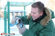 Музыкант Олег Шадрин: «Жизнь уральца должна быть в движении, иначе можно замерзнуть». В Екатеринбурге небольшой плюс. ФОТО, ВИДЕО