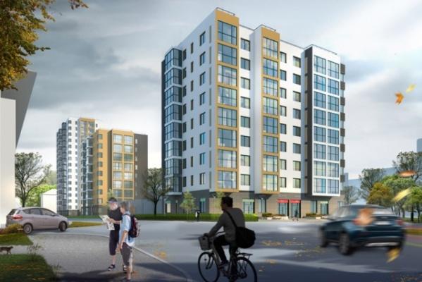 На Уралмаше построят жилой квартал из трех домов разной этажности