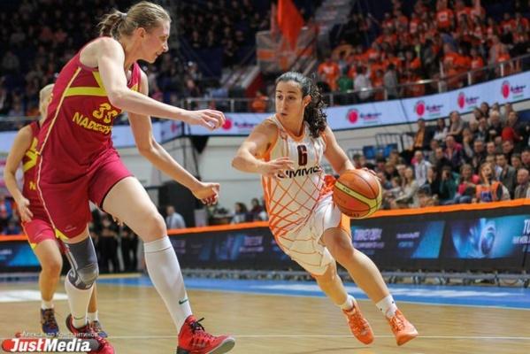 В Екатеринбурге пройдет «Финал четырех» женской баскетбольной Евролиги