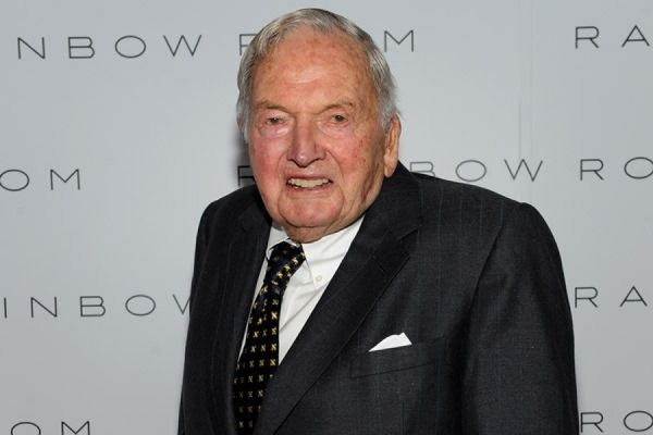 Скончался самый старый миллиардер в мире Дэвид Рокфеллер
