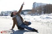 Неунывающий танцор Владимир Рябинкин: «Пришла весна. Все выходим, двигаемся и наслаждаемся погодой». В Екатеринбурге +6 градусов. ФОТО, ВИДЕО