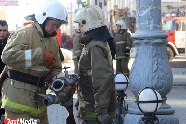 Из свердловской клиники неврозов из-за пожара эвакуированы 35 человек