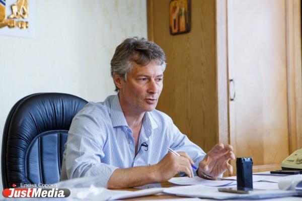 Ройзман собирается победить на выборах губернатора в Свердловской области: «Главное пройти регистрацию»
