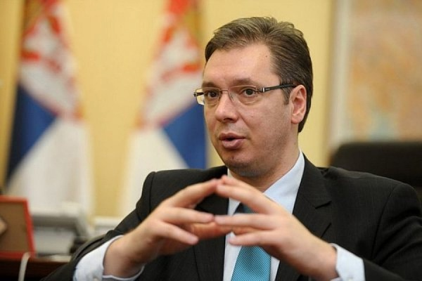 Вучич объявил о победе на выборах президента Сербии