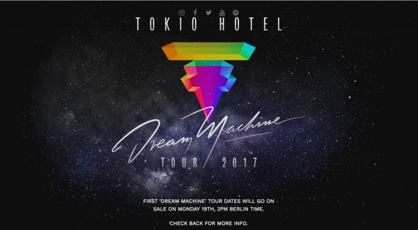 Грандиозное возвращение Tokio Hotel