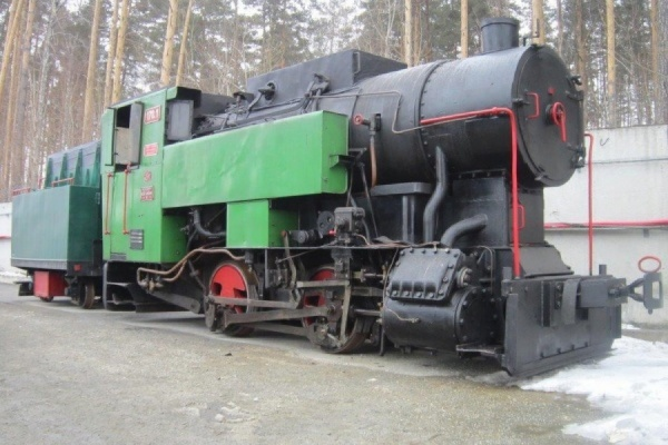 В Екатеринбурге парк Детской железной дороги в этом году пополнит старинный танк-паровоз и поезд из парка Энгельса. ФОТО