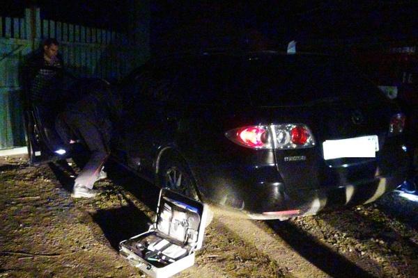 В Екатеринбурге гаишники задержали угонщиков на краденной машине
