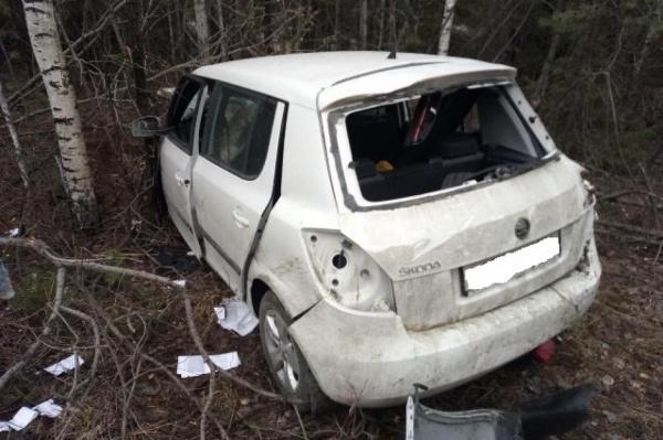 В Свердловской области неопытные водители устроили два серьезных ДТП. ФОТО