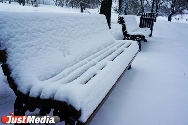 До 15 сантиметров. На Свердловскую область обрушатся сильные снегопады