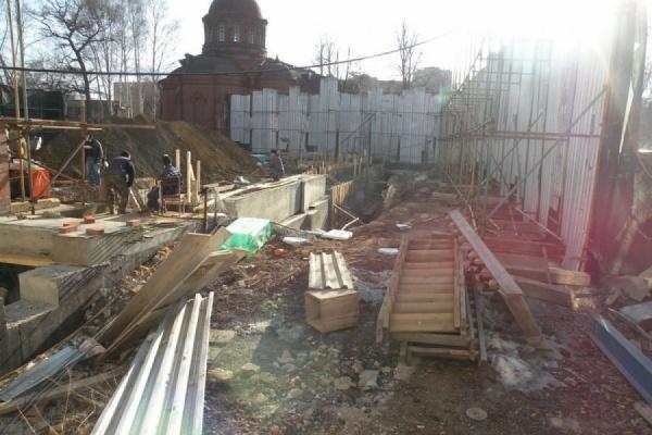 Управление по охране памятников завтра побывает на месте сноса Успенской церкви