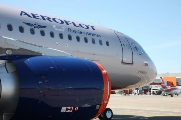 Самолет Аэрофлота попал взону турбулентности