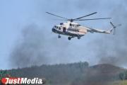 Под Екатеринбургом горит 5 гектаров леса
