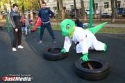 Сильнейшие воркаутеры Екатеринбурга провели тренировку для Дзюдана. ФОТО