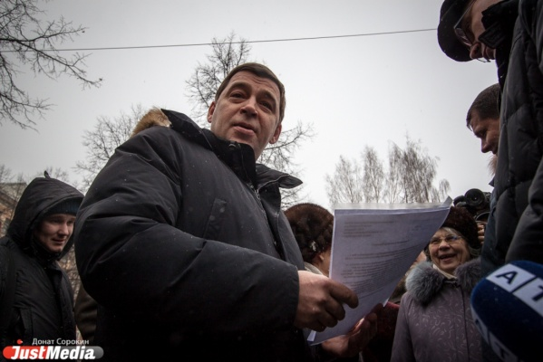 И.О. губернатора Евгений Куйвашев сегодня отправится насевер Свердловской области