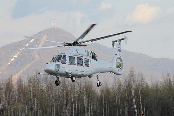 Размещены кадры первого полета самого нового вертолета Ка-62