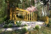 «Атомстройкомплекс» превратит заросший лес на УНЦ в благоустроенный парк-улитку. ФОТО