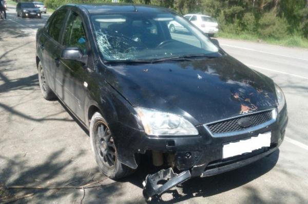 Очередное ДТП с пешеходом. В Белоярке иномарка сбила насмерть женщину