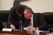 Рогозин прилетел в Нижний Тагил на секретное совещание, которое он анонсировал в Twitter