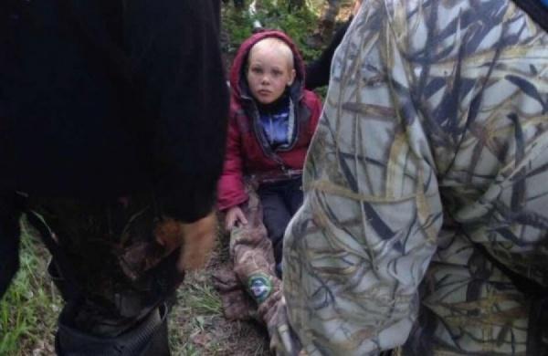 Четырехлетний Дима Песков, найденный в лесу, подцепил ветряную оспу