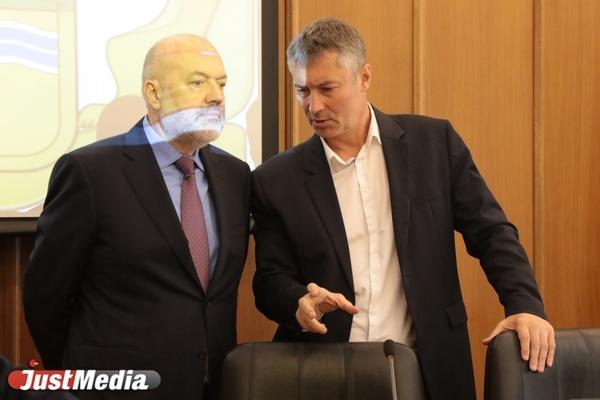 Ройзман пожаловался Крашенинникову на муниципальный фильтр