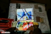 Редкая норка, журавлики от медиков и рисунки для слабовидящих. В Екатеринбурге стартовал фестиваль «Стенограффия»