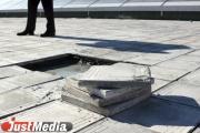 В Екатеринбурге из-за замены плитки на Ленина закрыли пешеходную аллею на неопределенный срок