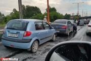 Массовое ДТП парализовало движение на Объездной дороге. ФОТО