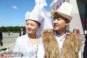 На ИННОПРОМ приехали молодожены из Кыргызстана