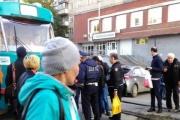 В Екатеринбурге произошло два ДТП с участием трамваев